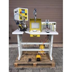 Latex cabin table gluer forming machine SAREMA