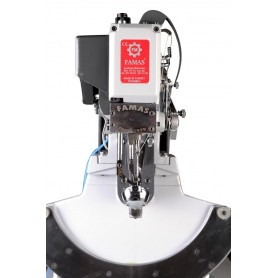 FAMAS - 224 TK DOUBLE THREAD SOLE SIDE SEWING MACHINE (WITH OPPOSITE HORN)