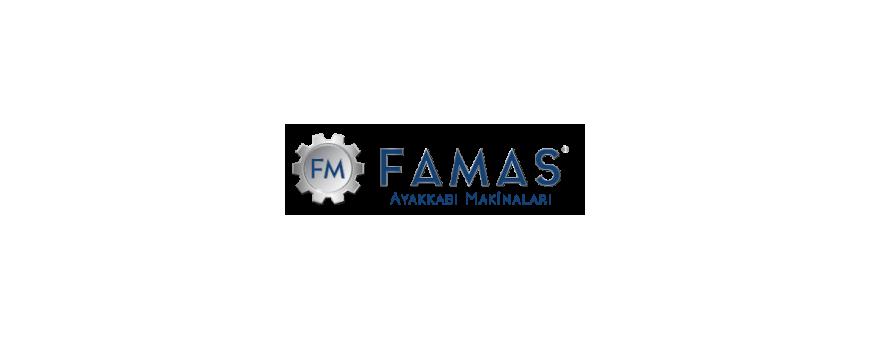 Famas - Sewing machines, eyelet machines, hookers, riveters